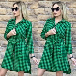 Платье короткое с длинным рукавом современное Ц3615
