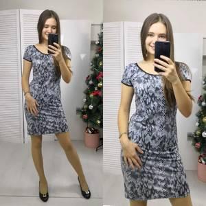 Платье короткое нарядное летнее Ф8945