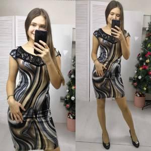 Платье короткое нарядное летнее Ф8946