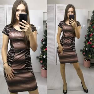 Платье короткое нарядное летнее Ф8947