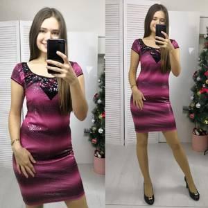 Платье короткое нарядное летнее Ф8948
