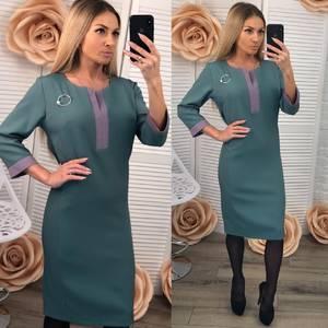 Платье короткое футляр современное Ф3530