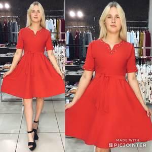 Платье короткое летнее однотонное Ф1541
