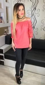Блуза розовая Х5261
