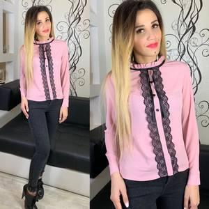 Блуза розовая Х5265