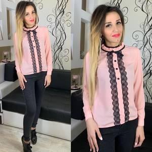 Блуза розовая Х5266