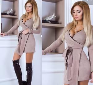 Платье короткое нарядное современное Х0174