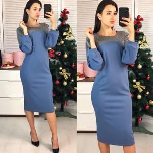 Платье короткое нарядное элегантное Ф7712