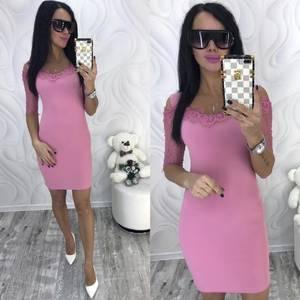 Платье короткое нарядное современное Ф8702