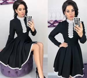 Платье короткое нарядное современное Х0175
