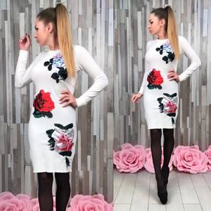 Платье короткое футляр У7273