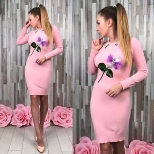 Платье короткое футляр У7275