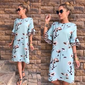 Платье короткое летнее У7266