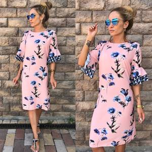 Платье короткое летнее У7267