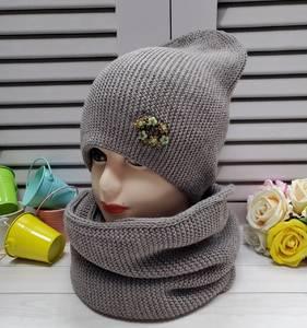 Шапка и шарф Хомут А25734
