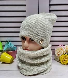 Шапка и шарф Хомут А25735