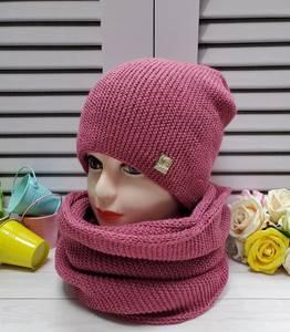 Шапка и шарф Хомут А25736