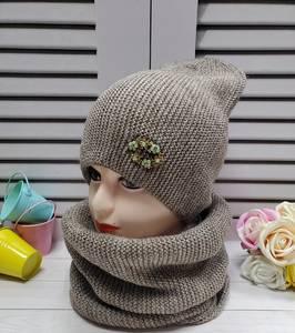 Шапка и шарф Хомут А25737