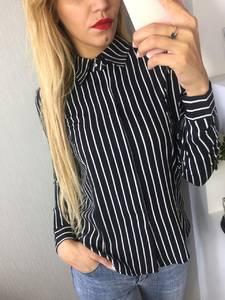Рубашка в полоску с длинным рукавом Ф6243