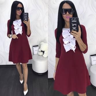 Платье короткое нарядное современное Х8004
