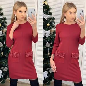Платье короткое нарядное современное Ф6448