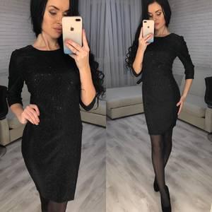 Платье короткое вечернее современное Ф7070