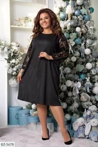 Платье короткое нарядное А59656