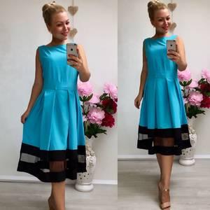 Платье короткое коктейльное классическое У8986