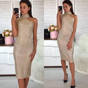 Платье короткое вечернее облегающее Ф5558