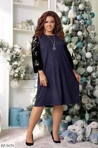Платье короткое нарядное А59657