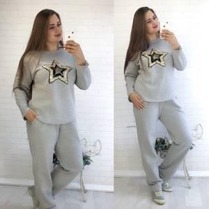 Костюм модный трикотажный У9757