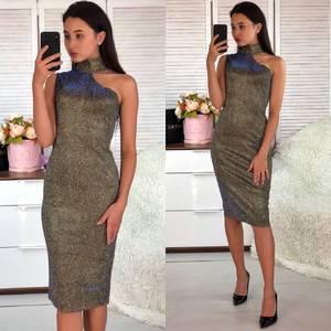 Платье короткое вечернее облегающее Ф5559