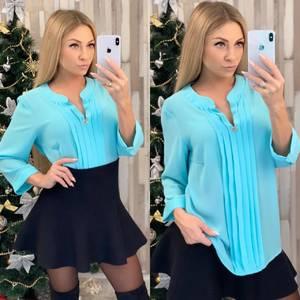 Блуза нарядная офисная Ф8037