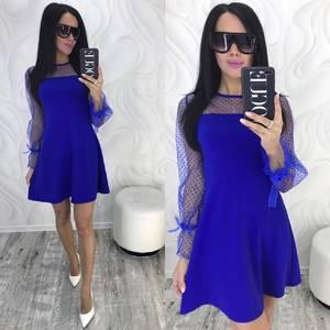 Платье короткое нарядное современное Ф9882