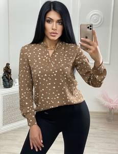 Блуза с длинным рукавом А24723