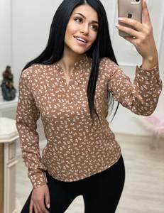 Блуза с длинным рукавом А24724