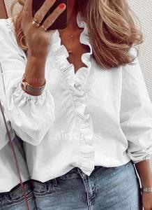 Блуза с длинным рукавом А24707