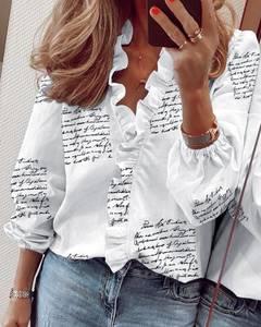 Блуза с длинным рукавом А24709