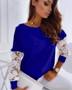 Блуза с длинным рукавом А24741