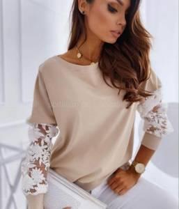 Блуза с длинным рукавом А24742