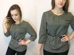 Блуза для офиса Х0943