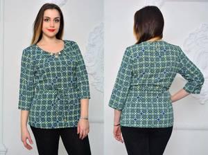 Блуза для офиса Х0945