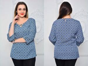 Блуза для офиса Х0946