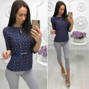 Блуза для офиса Х0952