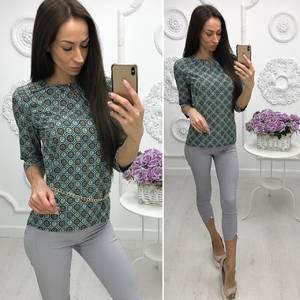 Блуза для офиса Х0955