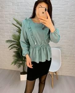 Блуза с длинным рукавом А24754