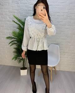 Блуза с длинным рукавом А24755