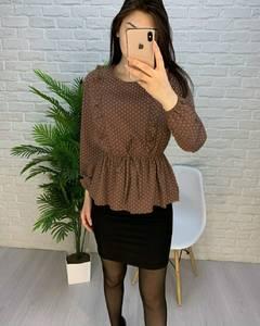 Блуза с длинным рукавом А24756