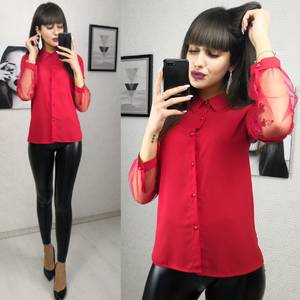 Блуза блузки Х0432