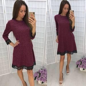 Платье короткое повседневное У1350